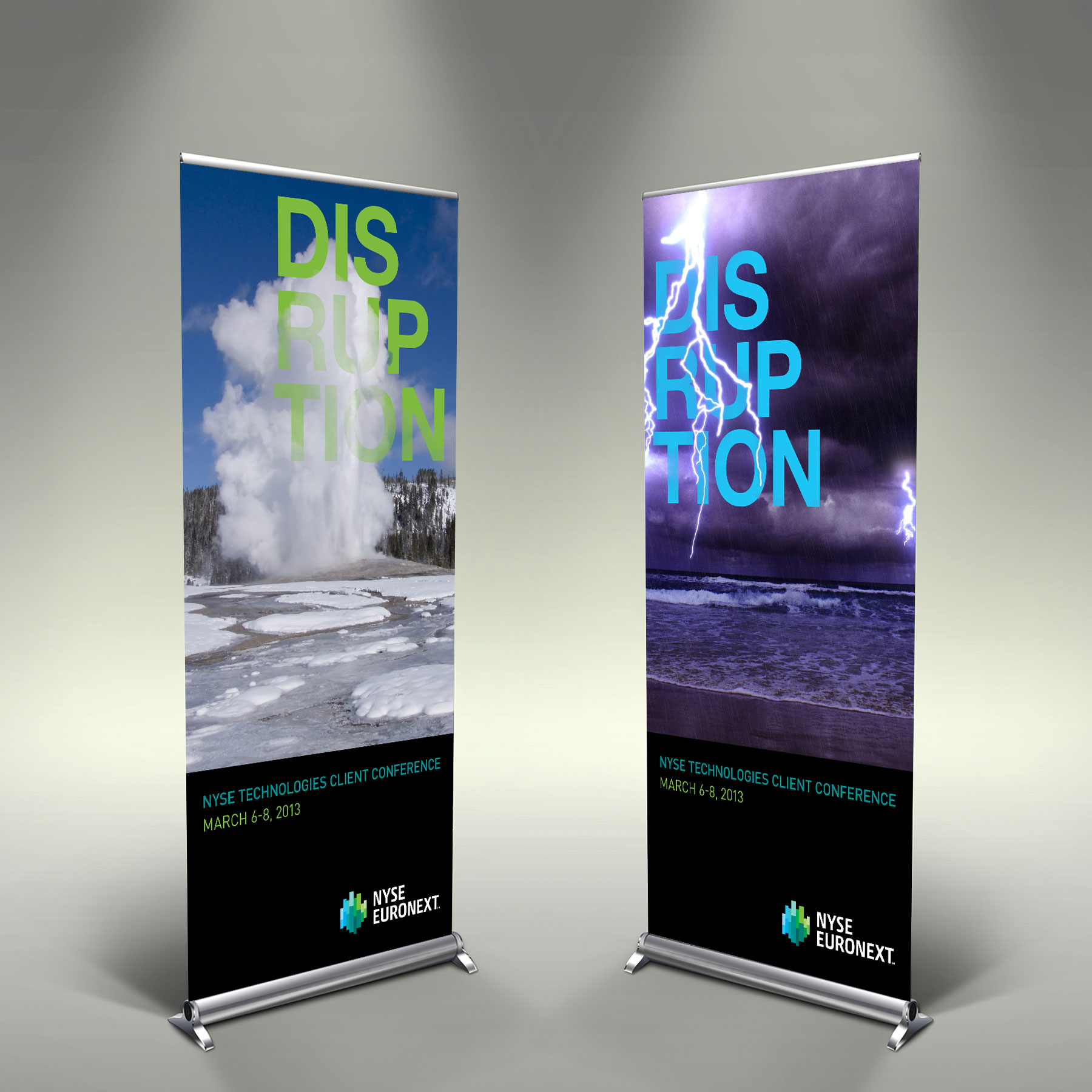 Radohz Nyse Pull Up Banners